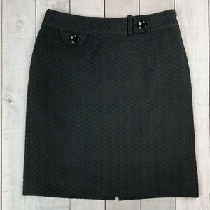 Ann Taylor textured career skirt
